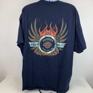 Harley Davidson T-Shirt 3XL Guidera's Yuba City CA